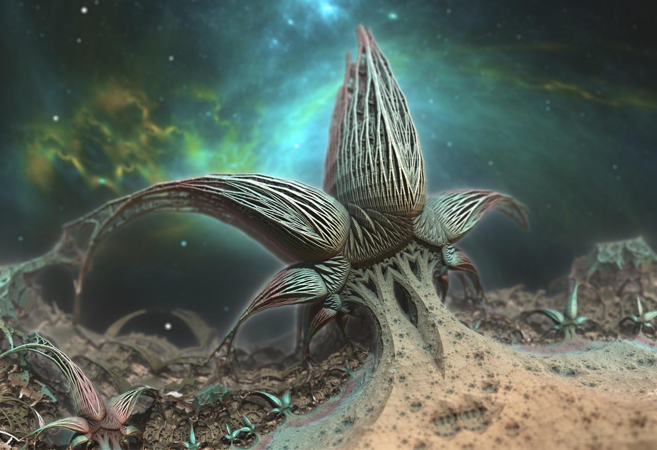 Alien Star Plant
