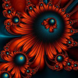 Red Burst by HalTenny