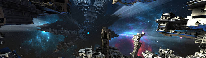 Experimental Borg Starship by HalTenny