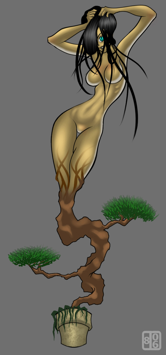 -Boobsai Tree- by duberdurm