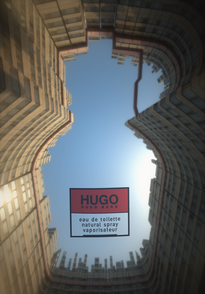 HUGO create entry - SimpliCity by Djohaal
