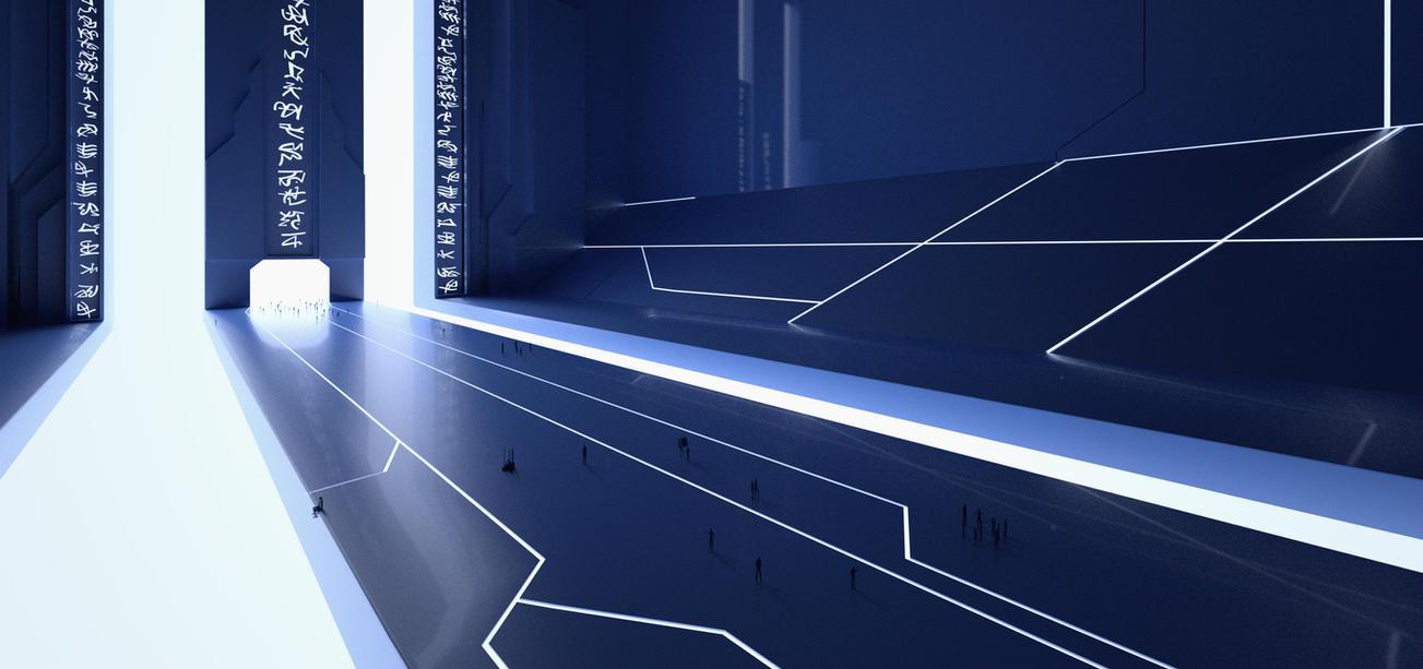 The Blue Bridge by Djohaal
