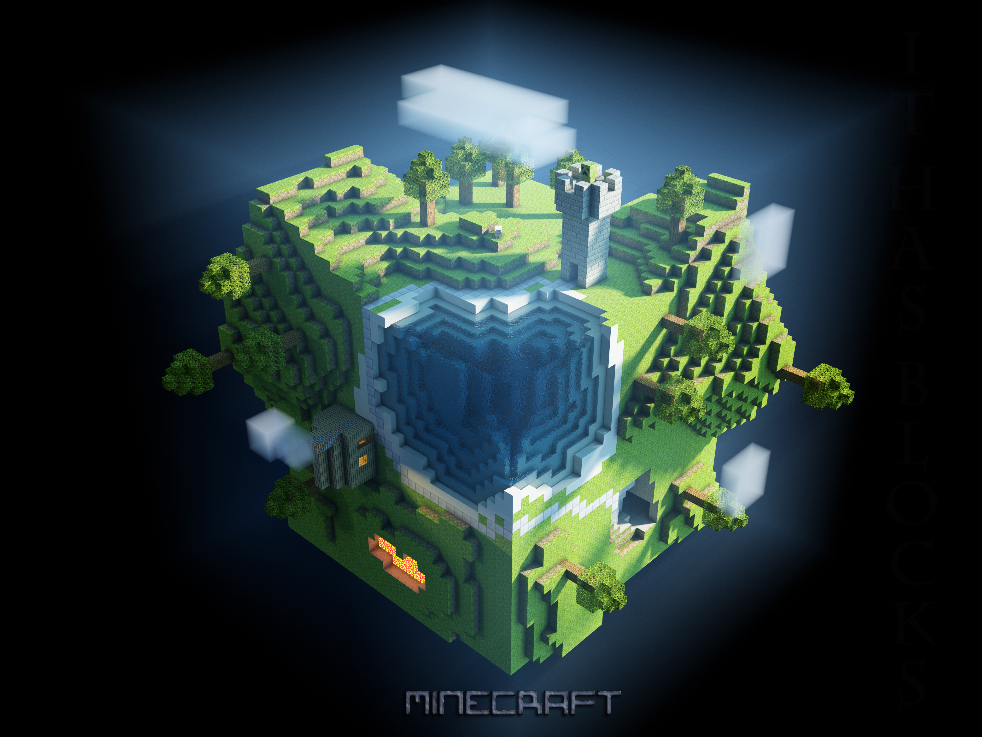 http www wallpapers com minecraft - photo #42