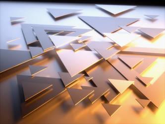 Triangles 1 by Djohaal