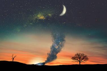 Sundown by yamenhamed