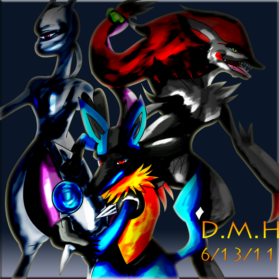 Lucario And Zoroark And Mewtwo | www.imgkid.com - The ...