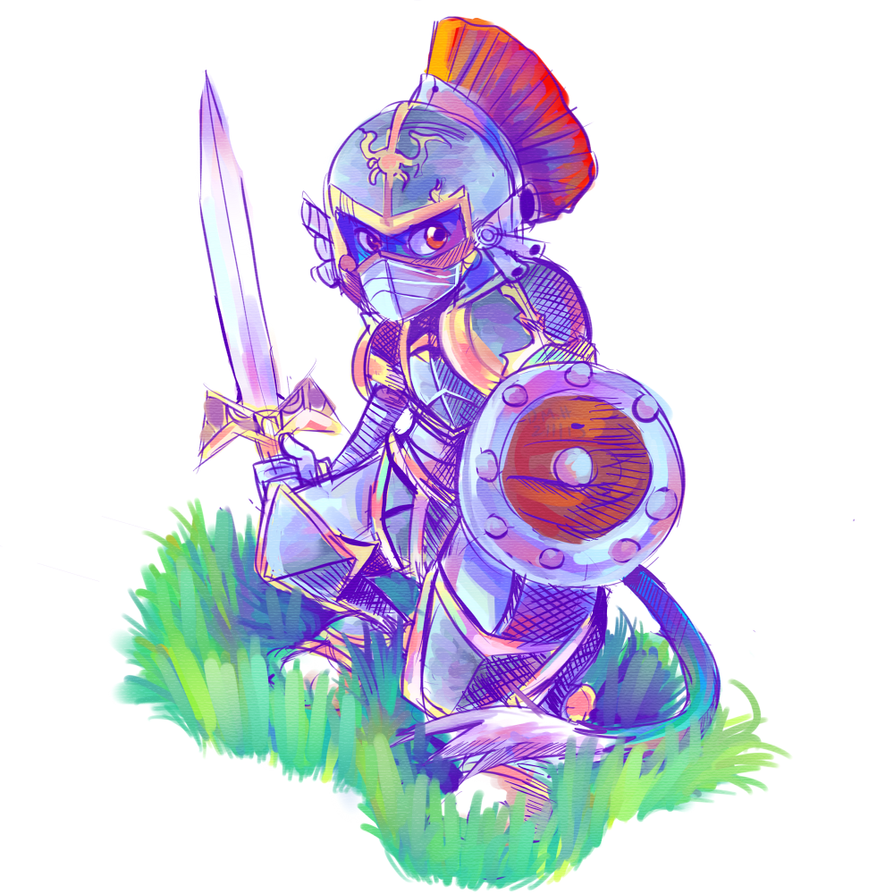 Knight Guy by LadyKuki