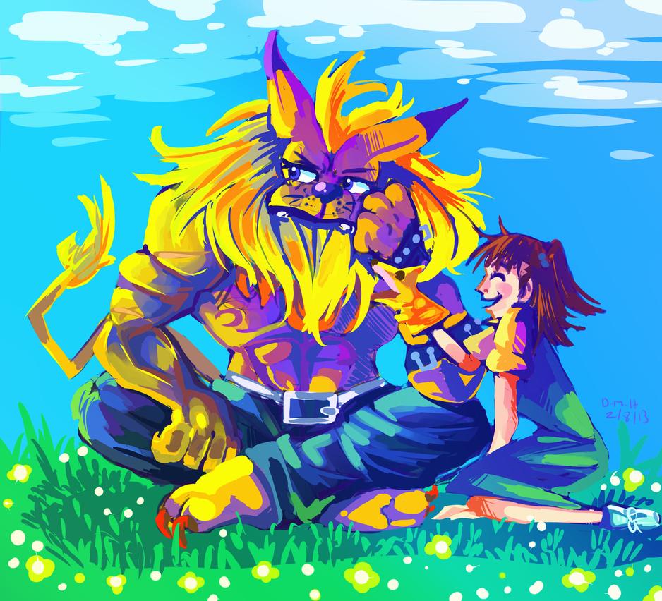 Leomon by LadyKuki