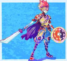 Blind Knight by LadyKuki