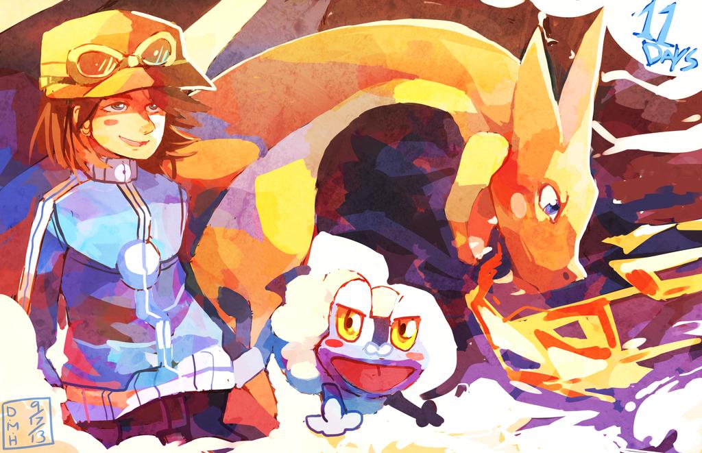 Pokemon X and Y Countdown by LadyKuki