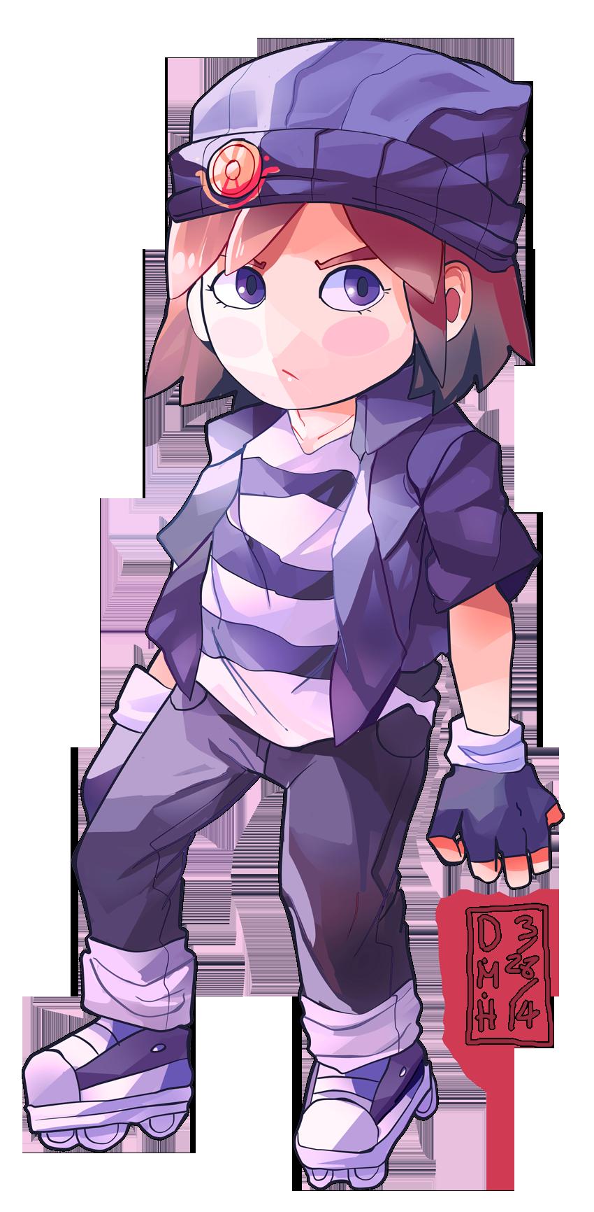 chibi burgernator by LadyKuki