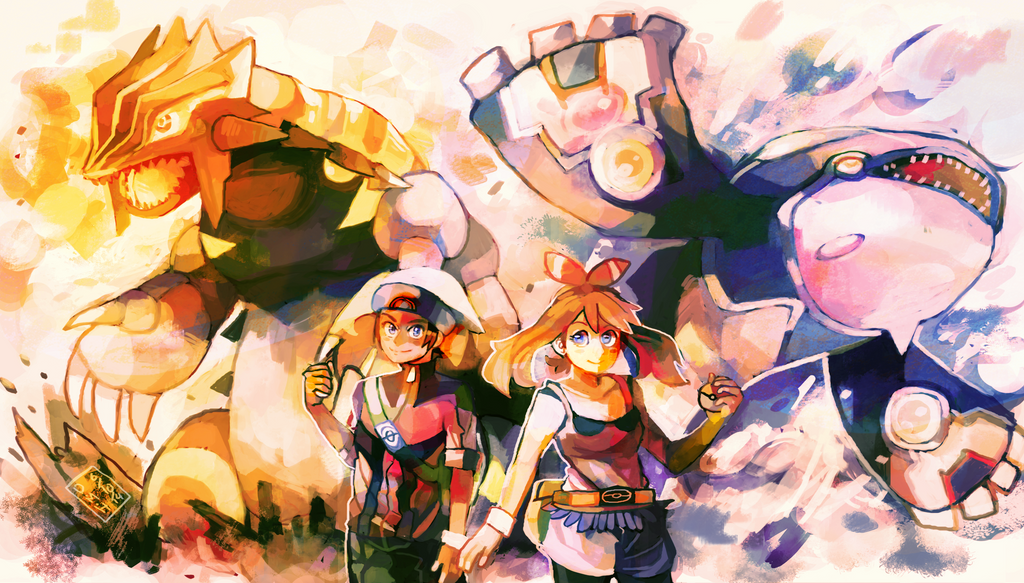 Pokemon ORAS by LadyKuki