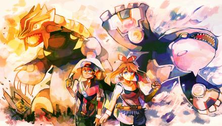 Pokemon ORAS by LadyKuki
