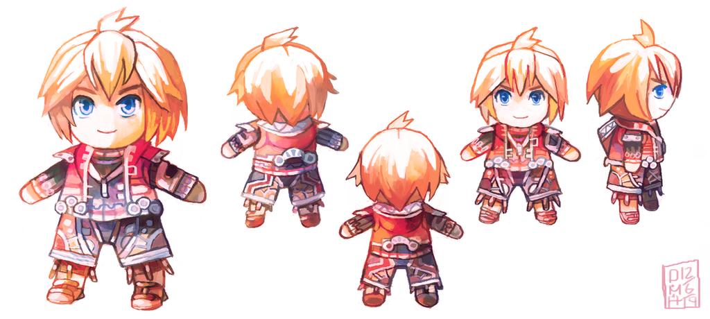 Shulk Doll by LadyKuki