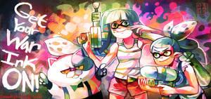 Splatoon by LadyKuki
