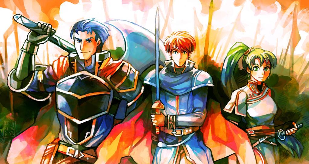 Blazing Sword by LadyKuki