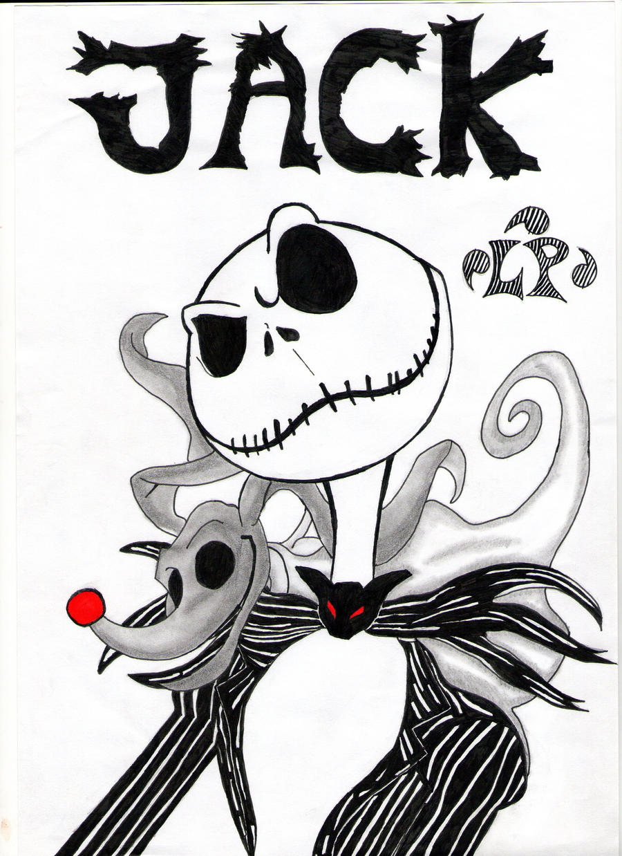 Jack skellington colouring pages page 2 - Top