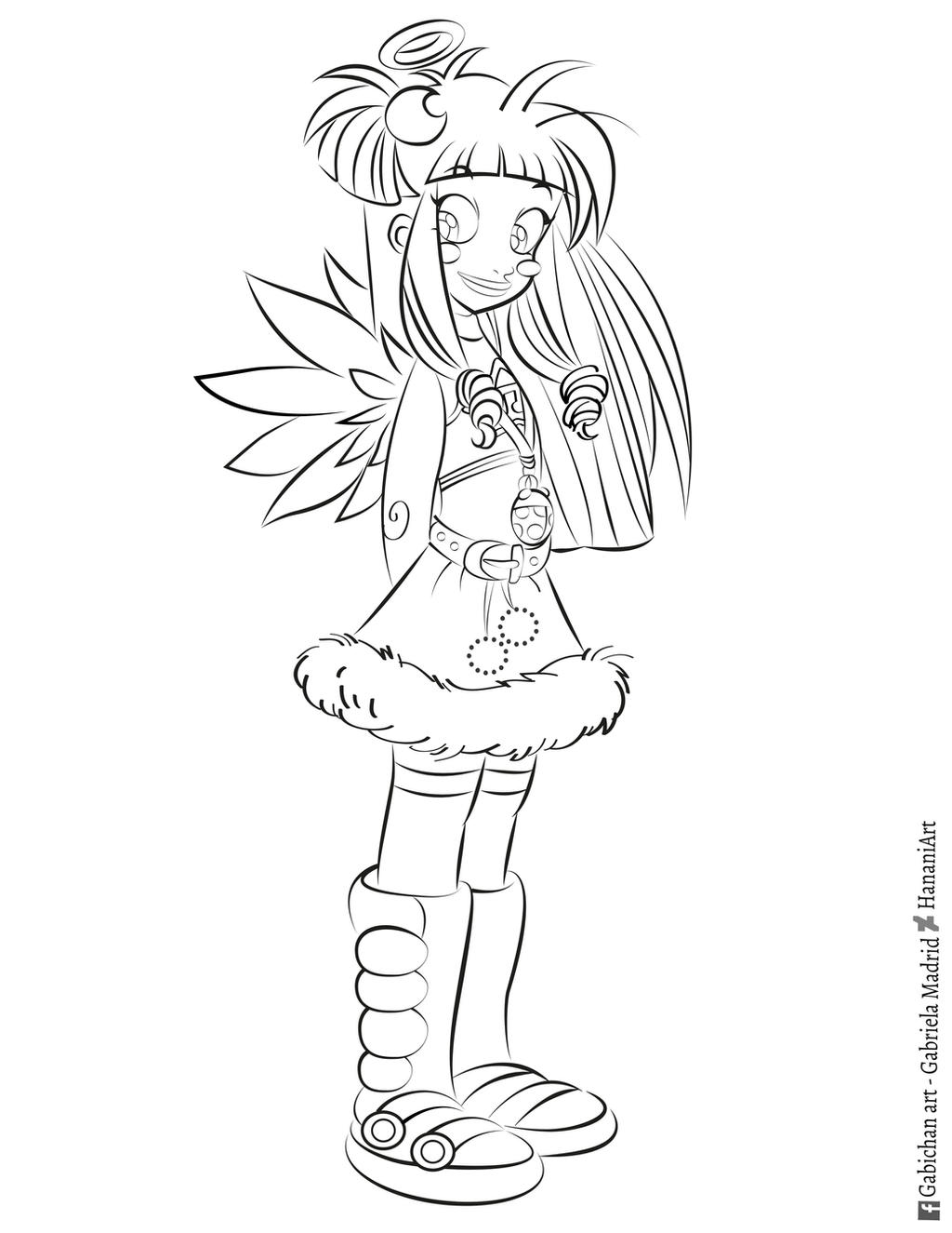 raf coloring page angel u0027s friends by hananiart on deviantart