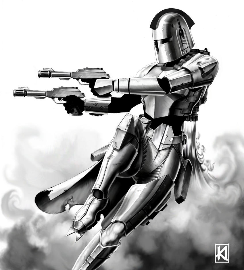 Bounty Hunter by sugarsart on DeviantArt
