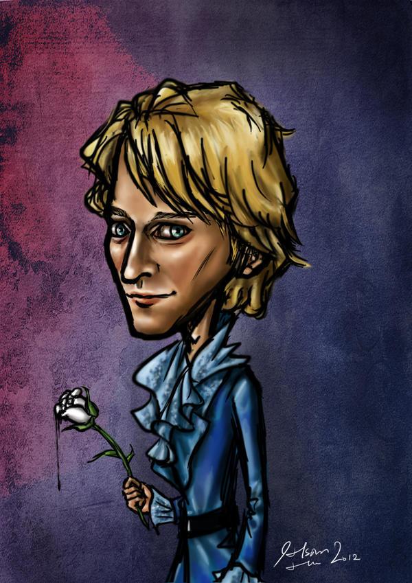 Cyril Niccolai as Romeo by ggkom on DeviantArt