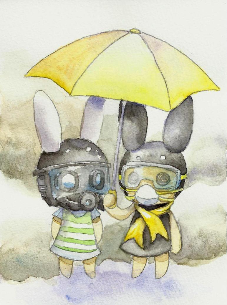 The Umbrella Revolution by tabiki999