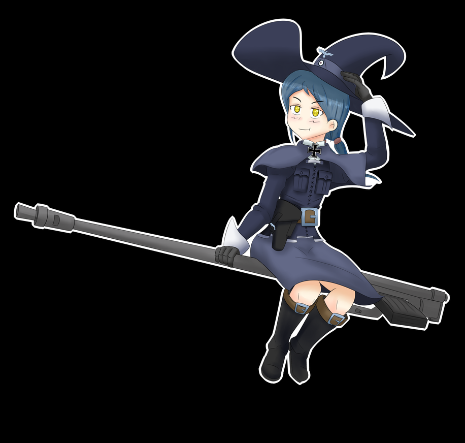 obligatory witch drawing for halloween by saltinducedcoma on deviantart