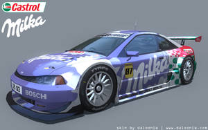 Milka skin for Live For Speed