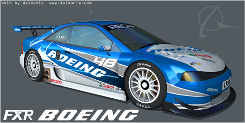 Boeing Skin for Live For Speed by DaLoonie