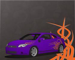 Scion tc Spikeys by DaLoonie