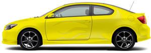 tc Yellow Scion by DaLoonie