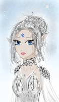 Yan-the ice princess (fanart)