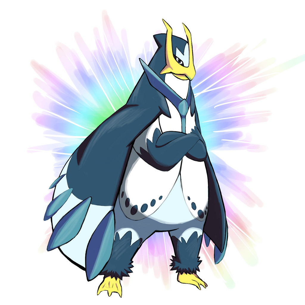 Mega Empoleon by Ice-K...