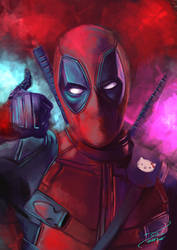 Deadpool by Krazmuth