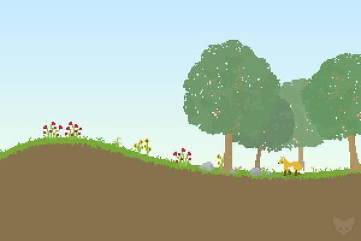 Random Pixel Scene