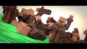 Villagers by TechnoWolf99