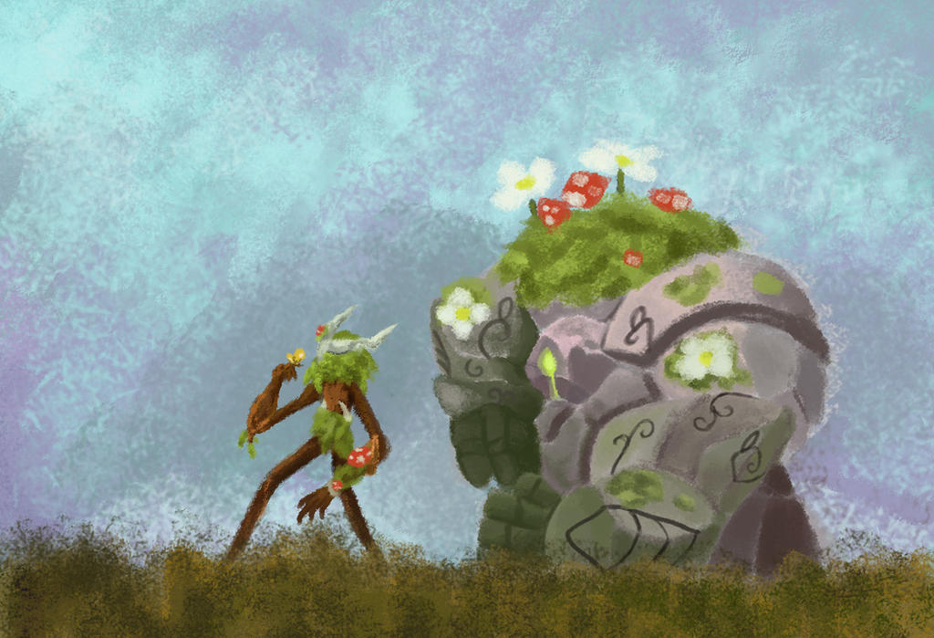 Ivern And Daisy By Cappuccinomp3 On Deviantart