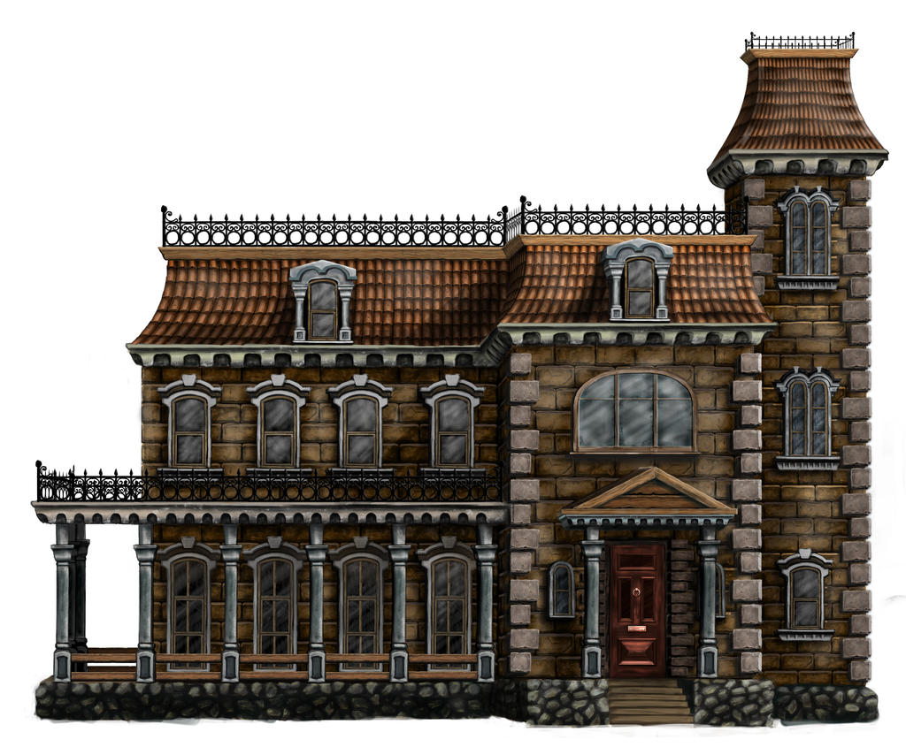 New Victorian House For Hidden Object Game By Artires On