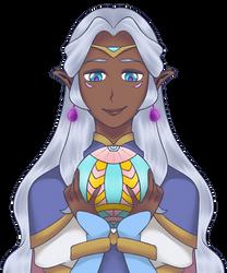 Princess Allura of Altea - 01 by nekomakino