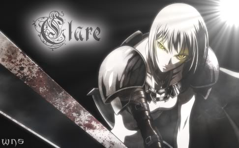 Claymore - Clare by sleepdeprived01