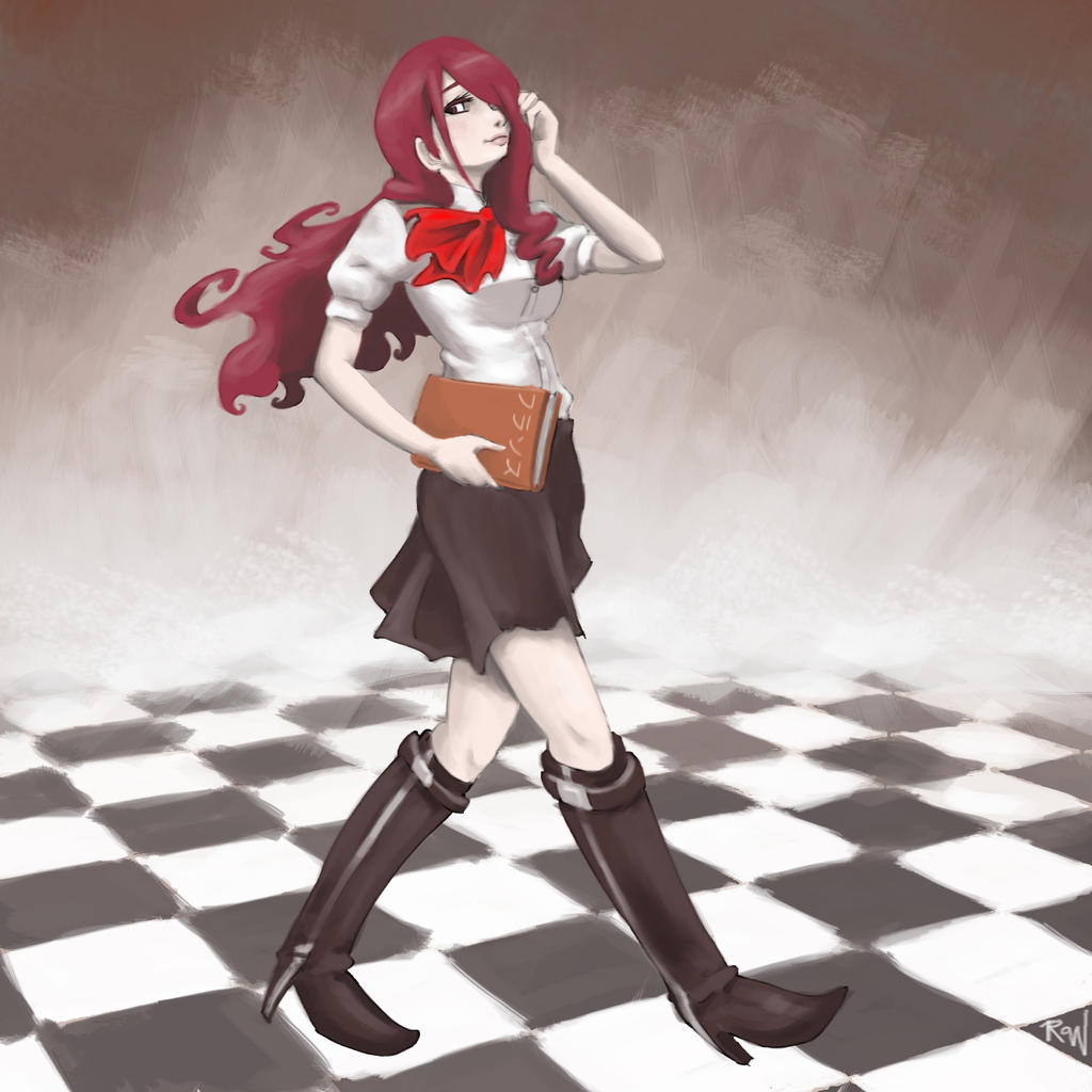 Mitsuru by rasuru