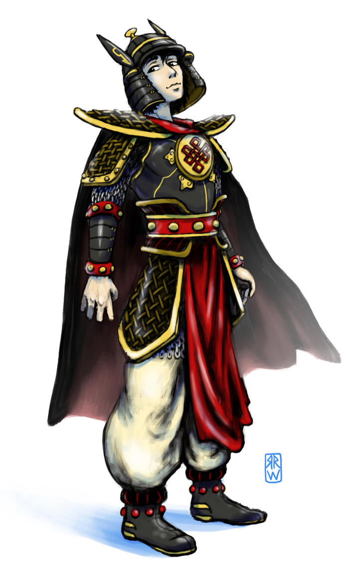 commission - King Gesar by rasuru