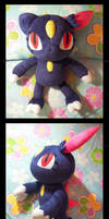 Sneasel plush by d215lab
