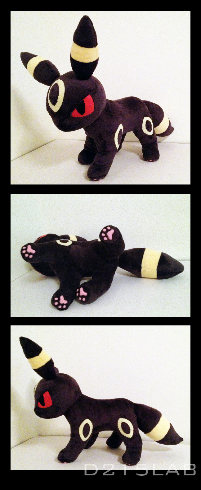 Umbreon plush by d215lab