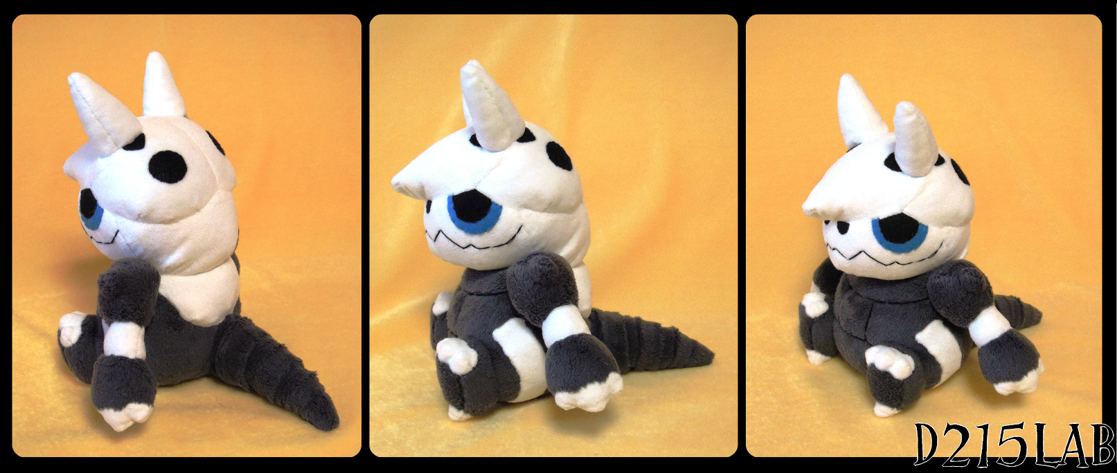 Arggron plush by d215lab