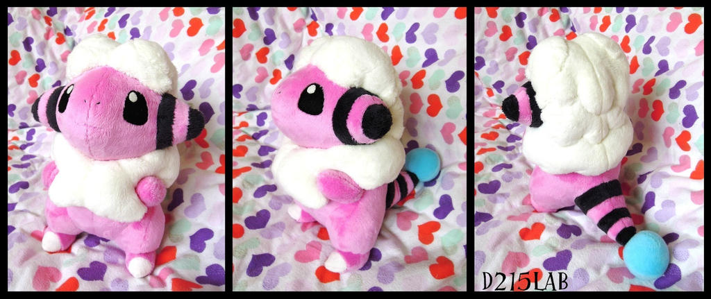 Flaaffy plush by d215lab