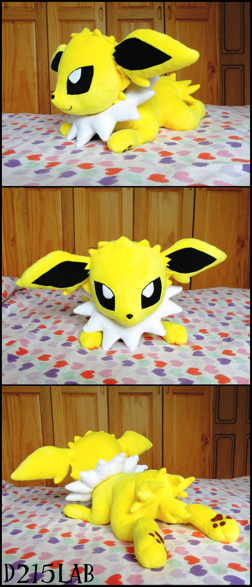 Jolteon plush by d215lab