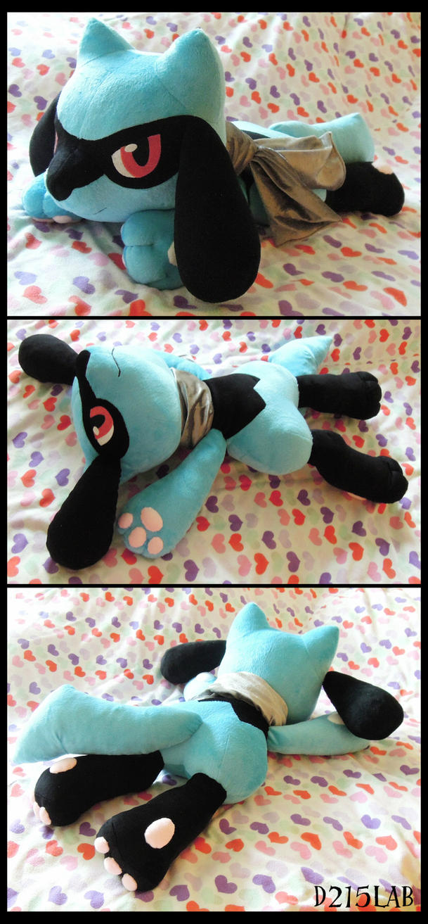 Riolu Plush by d215lab