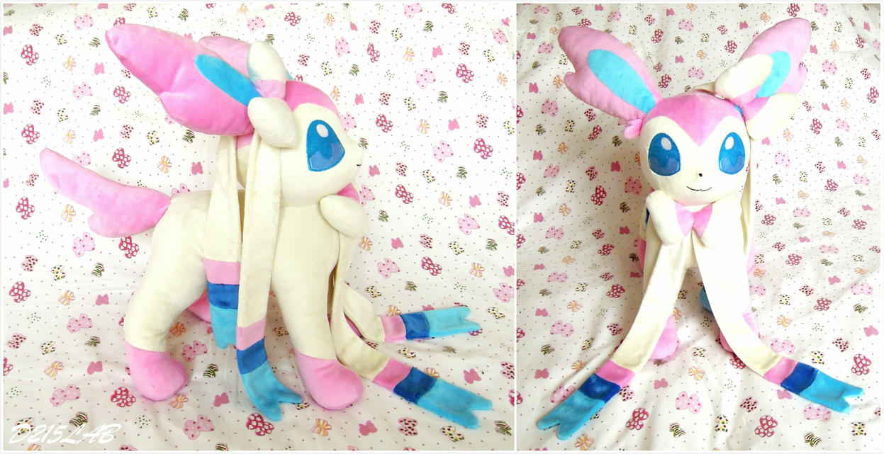 Sylveon Plush by d215lab