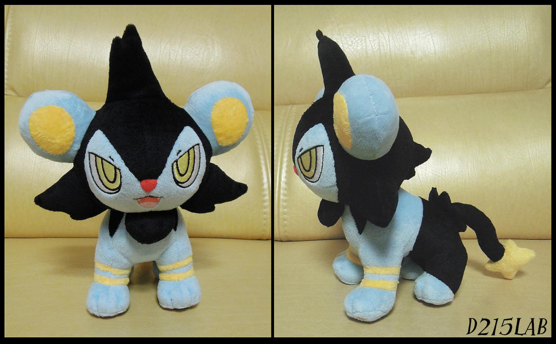 Luxio Plush by d215lab