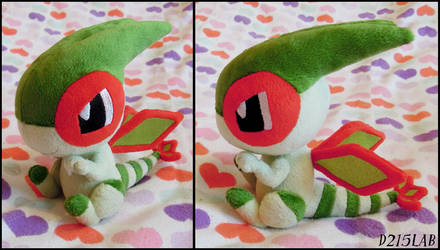Flygon Plush by d215lab
